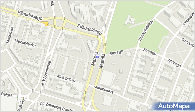 Przystanek Filharmonia 11. ZDiTM Szczecin - Szczecin (id 11411) na mapie Targeo