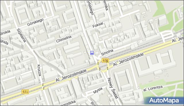 Przystanek Foksal 01. ZTM Warszawa - Warszawa (id 704201) na mapie Targeo