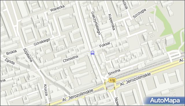 Przystanek Foksal 02. ZTM Warszawa - Warszawa (id 704202) na mapie Targeo