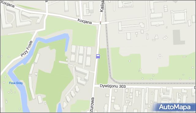 Przystanek Fort Blizne 02. ZTM Warszawa - Warszawa (id 505202) na mapie Targeo
