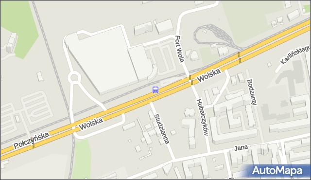 Przystanek Fort Wola 02. ZTM Warszawa - Warszawa (id 502102) na mapie Targeo