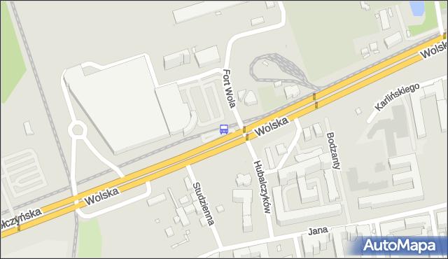 Przystanek Fort Wola 03. ZTM Warszawa - Warszawa (id 502103) na mapie Targeo