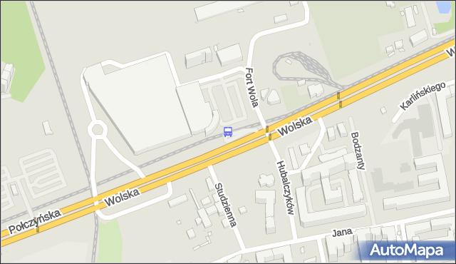 Przystanek Fort Wola 04. ZTM Warszawa - Warszawa (id 502104) na mapie Targeo