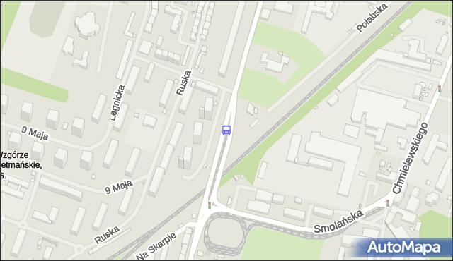 Przystanek Frysztacka 23. ZDiTM Szczecin - Szczecin (id 21523) na mapie Targeo