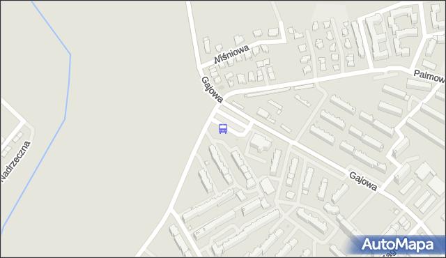 Przystanek GAJOWA/JARZĘBINOWA. BKM - Białystok (id 128) na mapie Targeo