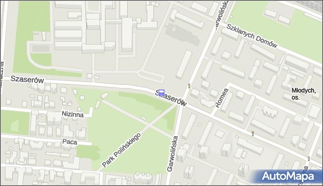 Przystanek Garwolińska 01. ZTM Warszawa - Warszawa (id 211101) na mapie Targeo