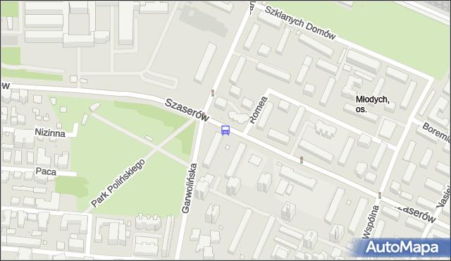 Przystanek Garwolińska 02. ZTM Warszawa - Warszawa (id 211102) na mapie Targeo