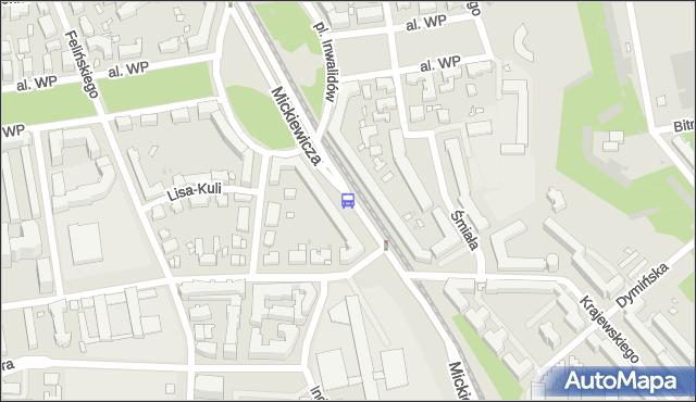 Przystanek gen.Zajączka 01. ZTM Warszawa - Warszawa (id 600101) na mapie Targeo