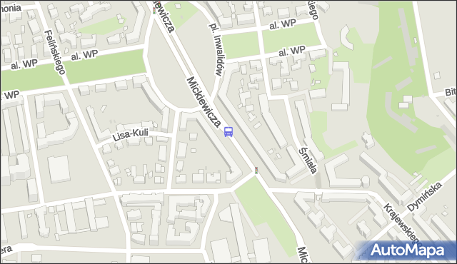 Przystanek gen.Zajączka 02. ZTM Warszawa - Warszawa (id 600102) na mapie Targeo