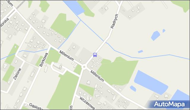 Przystanek Głosków-Zielone 02. ZTM Warszawa - Warszawa (id 322002) na mapie Targeo