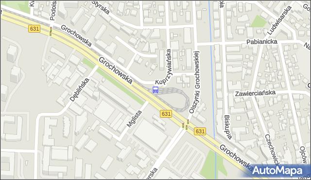 Przystanek Gocławek 03. ZTM Warszawa - Warszawa (id 201403) na mapie Targeo