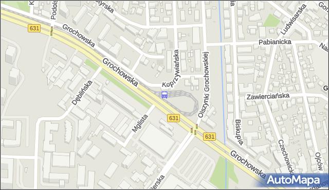 Przystanek Gocławek 04. ZTM Warszawa - Warszawa (id 201404) na mapie Targeo