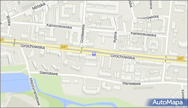 Przystanek Gocławska 02. ZTM Warszawa - Warszawa (id 200402) na mapie Targeo