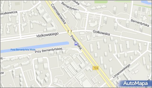 Przystanek Gołkowska 01. ZTM Warszawa - Warszawa (id 306201) na mapie Targeo