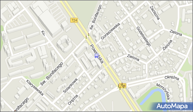 Przystanek Goraszewska 01. ZTM Warszawa - Warszawa (id 306401) na mapie Targeo