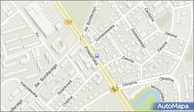Przystanek Goraszewska 02. ZTM Warszawa - Warszawa (id 306402) na mapie Targeo
