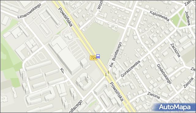 Przystanek Goraszewska 03. ZTM Warszawa - Warszawa (id 306403) na mapie Targeo