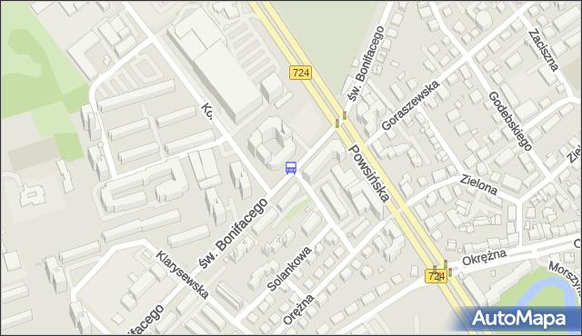 Przystanek Goraszewska 04. ZTM Warszawa - Warszawa (id 306404) na mapie Targeo