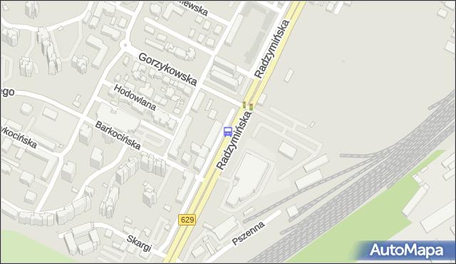Przystanek Gorzykowska 01. ZTM Warszawa - Warszawa (id 105501) na mapie Targeo
