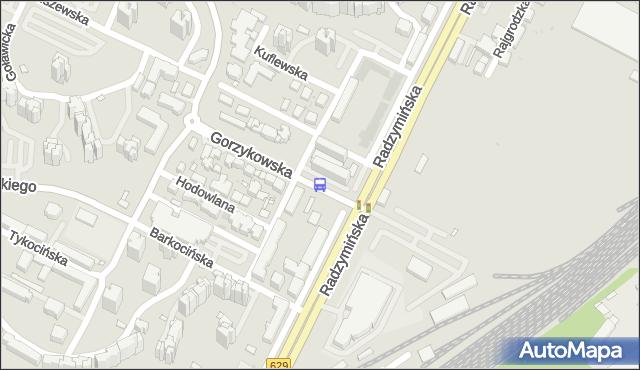 Przystanek Gorzykowska 04. ZTM Warszawa - Warszawa (id 105504) na mapie Targeo