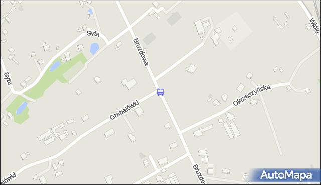 Przystanek Grabalówki 02. ZTM Warszawa - Warszawa (id 315702) na mapie Targeo