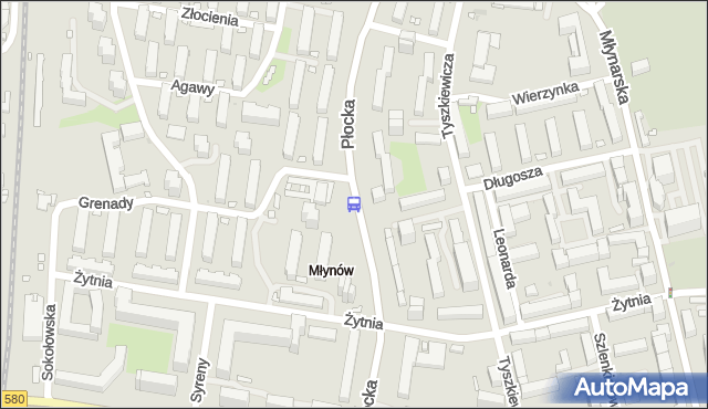 Przystanek Grenady 01. ZTM Warszawa - Warszawa (id 511201) na mapie Targeo