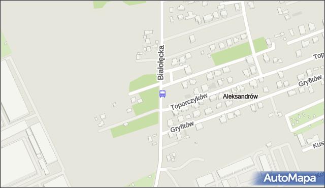 Przystanek Gryfitów 02. ZTM Warszawa - Warszawa (id 116702) na mapie Targeo