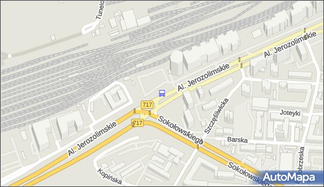 Przystanek Grzymały-Sokołowskiego 02. ZTM Warszawa - Warszawa (id 404302) na mapie Targeo