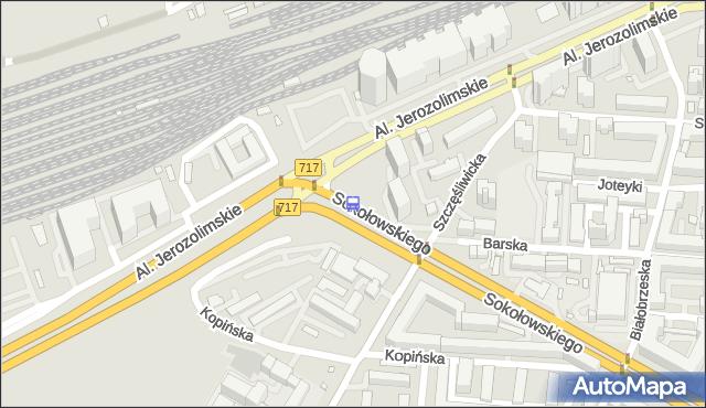 Przystanek Grzymały-Sokołowskiego 04. ZTM Warszawa - Warszawa (id 404304) na mapie Targeo