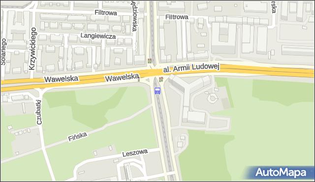 Przystanek GUS 04. ZTM Warszawa - Warszawa (id 709304) na mapie Targeo