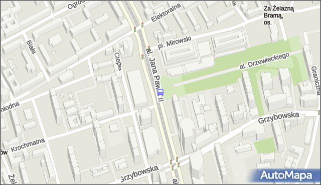 Przystanek Hala Mirowska 02. ZTM Warszawa - Warszawa (id 708602) na mapie Targeo