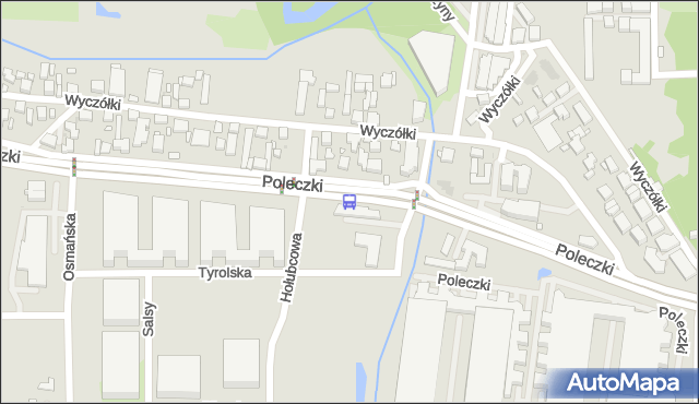 Przystanek Hołubcowa 01. ZTM Warszawa - Warszawa (id 328901) na mapie Targeo