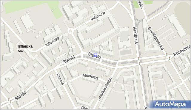 Przystanek Inflancka 02. ZTM Warszawa - Warszawa (id 702102) na mapie Targeo