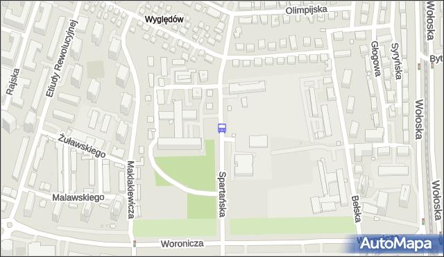 Przystanek Instytut Reumatologii 01. ZTM Warszawa - Warszawa (id 325701) na mapie Targeo
