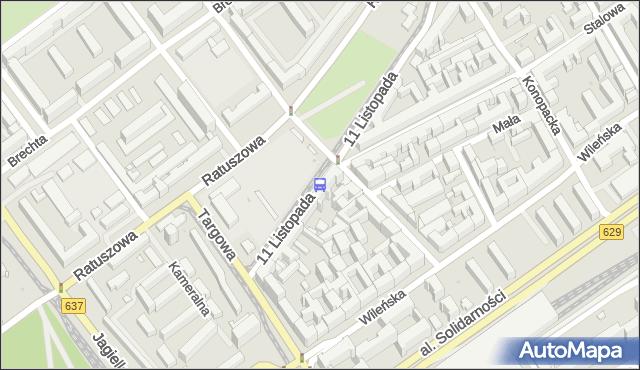 Przystanek Inżynierska 02. ZTM Warszawa - Warszawa (id 106602) na mapie Targeo