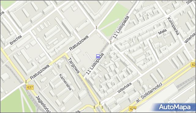 Przystanek Inżynierska 03. ZTM Warszawa - Warszawa (id 106603) na mapie Targeo