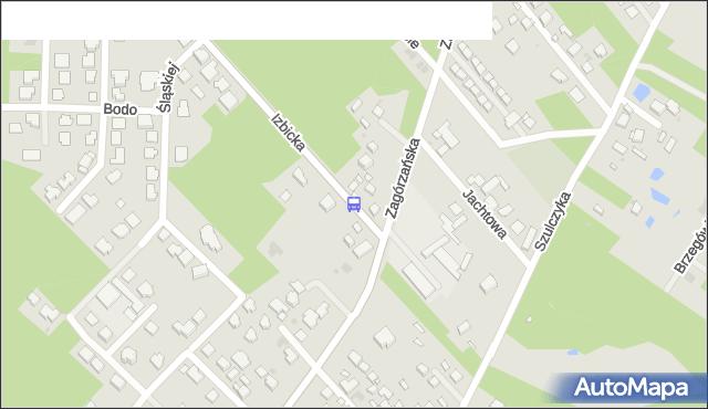 Przystanek Jachtowa 02. ZTM Warszawa - Warszawa (id 237502) na mapie Targeo