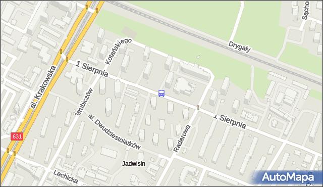 Przystanek Jadwisin 02. ZTM Warszawa - Warszawa (id 430302) na mapie Targeo