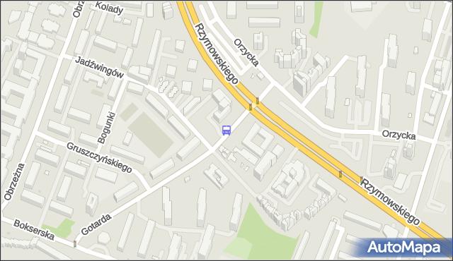 Przystanek Jadźwingów 01. ZTM Warszawa - Warszawa (id 326601) na mapie Targeo