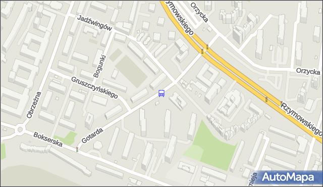 Przystanek Jadźwingów 02. ZTM Warszawa - Warszawa (id 326602) na mapie Targeo