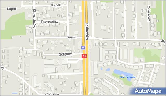 Przystanek Jagielska 01. ZTM Warszawa - Warszawa (id 302101) na mapie Targeo