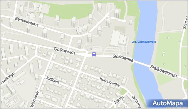 Przystanek Jeziorko Czerniakowskie 02. ZTM Warszawa - Warszawa (id 309002) na mapie Targeo