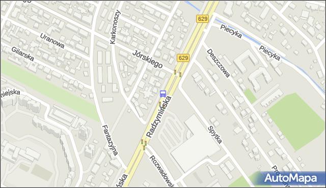 Przystanek Jórskiego 01. ZTM Warszawa - Warszawa (id 105701) na mapie Targeo