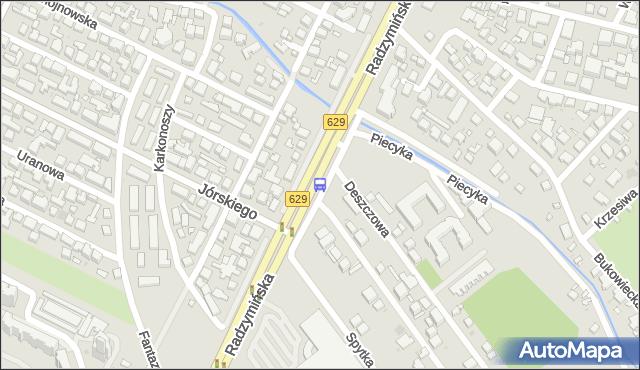 Przystanek Jórskiego 02. ZTM Warszawa - Warszawa (id 105702) na mapie Targeo