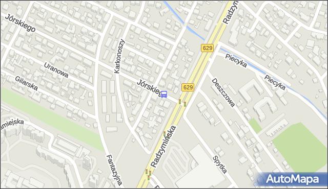 Przystanek Jórskiego 04. ZTM Warszawa - Warszawa (id 105704) na mapie Targeo
