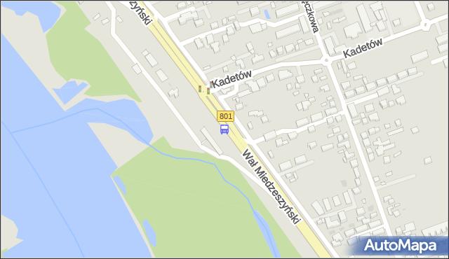 Przystanek Kadetów 01. ZTM Warszawa - Warszawa (id 220601) na mapie Targeo