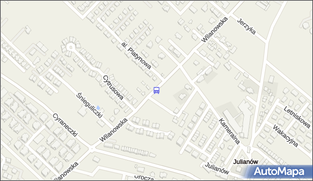 Przystanek Kameralna 01. ZTM Warszawa - Warszawa (id 334801) na mapie Targeo