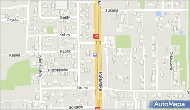 Przystanek Kapeli 01. ZTM Warszawa - Warszawa (id 302001) na mapie Targeo