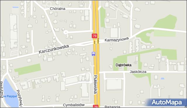 Przystanek Karczunkowska 01. ZTM Warszawa - Warszawa (id 302201) na mapie Targeo