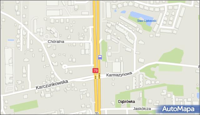 Przystanek Karczunkowska 02. ZTM Warszawa - Warszawa (id 302202) na mapie Targeo